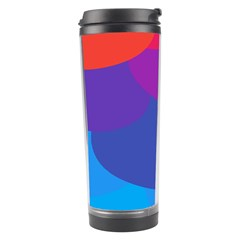 Circles Colorful Balloon Circle Purple Blue Red Orange Travel Tumbler by Mariart