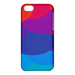 Circles Colorful Balloon Circle Purple Blue Red Orange Apple Iphone 5c Hardshell Case by Mariart