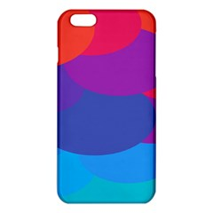 Circles Colorful Balloon Circle Purple Blue Red Orange Iphone 6 Plus/6s Plus Tpu Case by Mariart