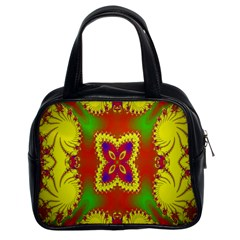 Digital Color Ornament Classic Handbags (2 Sides) by Nexatart