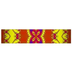 Digital Color Ornament Flano Scarf (small) by Nexatart