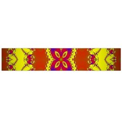 Digital Color Ornament Flano Scarf (large)