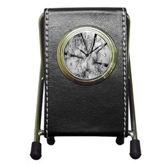 Trees Without Leaves Pen Holder Desk Clocks by Nexatart