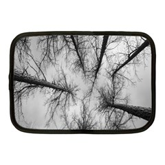 Trees Without Leaves Netbook Case (medium)  by Nexatart