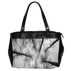 Trees Without Leaves Office Handbags (2 Sides)  by Nexatart