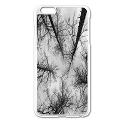 Trees Without Leaves Apple Iphone 6 Plus/6s Plus Enamel White Case by Nexatart