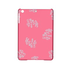 Branch Berries Seamless Red Grey Pink Ipad Mini 2 Hardshell Cases by Mariart