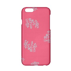 Branch Berries Seamless Red Grey Pink Apple Iphone 6/6s Hardshell Case by Mariart