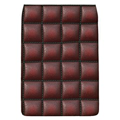 Red Cell Leather Retro Car Seat Textures Flap Covers (l)  by Nexatart