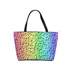 A Creative Colorful Background Shoulder Handbags by Nexatart