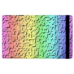 A Creative Colorful Background Apple Ipad 2 Flip Case by Nexatart