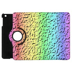A Creative Colorful Background Apple Ipad Mini Flip 360 Case by Nexatart