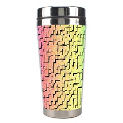 A Creative Colorful Background Stainless Steel Travel Tumblers by Nexatart