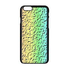 A Creative Colorful Background Apple Iphone 6/6s Black Enamel Case by Nexatart