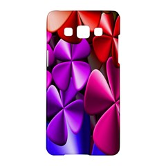 Colorful Flower Floral Rainbow Samsung Galaxy A5 Hardshell Case  by Mariart