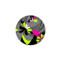 Abstract Illustration Nameless Fantasy Golf Ball Marker (4 Pack) by Nexatart