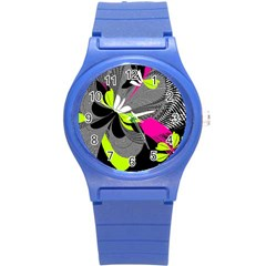 Abstract Illustration Nameless Fantasy Round Plastic Sport Watch (s) by Nexatart