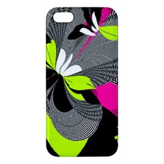 Abstract Illustration Nameless Fantasy Apple Iphone 5 Premium Hardshell Case