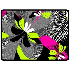 Abstract Illustration Nameless Fantasy Double Sided Fleece Blanket (large)  by Nexatart
