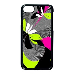 Abstract Illustration Nameless Fantasy Apple Iphone 7 Seamless Case (black)