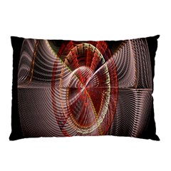 Fractal Fabric Ball Isolated On Black Background Pillow Case (two Sides)