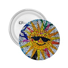 Sun From Mosaic Background 2 25  Buttons by Nexatart