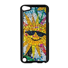 Sun From Mosaic Background Apple Ipod Touch 5 Case (black) by Nexatart