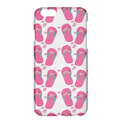 Flip Flops Flower Star Sakura Pink Apple Iphone 6 Plus/6s Plus Hardshell Case by Mariart