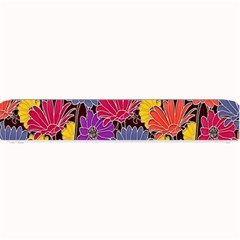 Colorful Floral Pattern Background Small Bar Mats by Nexatart