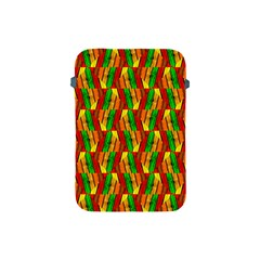 Colorful Wooden Background Pattern Apple Ipad Mini Protective Soft Cases by Nexatart