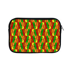 Colorful Wooden Background Pattern Apple Ipad Mini Zipper Cases by Nexatart