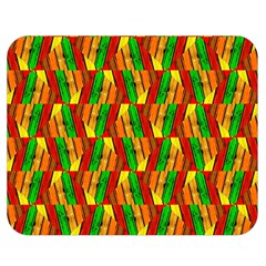 Colorful Wooden Background Pattern Double Sided Flano Blanket (medium)
