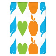 Fruit Apple Orange Green Blue Flap Covers (s)  by Mariart