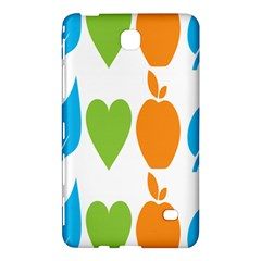 Fruit Apple Orange Green Blue Samsung Galaxy Tab 4 (7 ) Hardshell Case  by Mariart