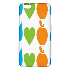 Fruit Apple Orange Green Blue Iphone 6 Plus/6s Plus Tpu Case by Mariart