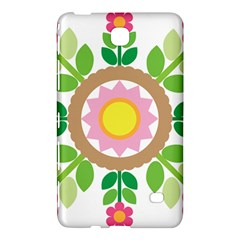 Flower Floral Sunflower Sakura Star Leaf Samsung Galaxy Tab 4 (8 ) Hardshell Case  by Mariart