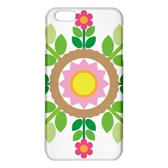 Flower Floral Sunflower Sakura Star Leaf Iphone 6 Plus/6s Plus Tpu Case by Mariart