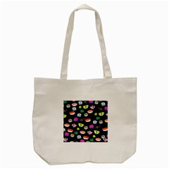 Japanese Food Sushi Fish Tote Bag (cream) by Mariart