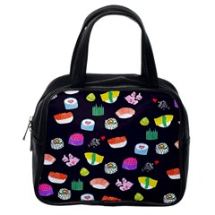 Japanese Food Sushi Fish Classic Handbags (one Side)