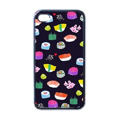 Japanese Food Sushi Fish Apple Iphone 4 Case (black) by Mariart