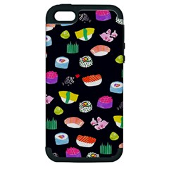 Japanese Food Sushi Fish Apple Iphone 5 Hardshell Case (pc+silicone) by Mariart