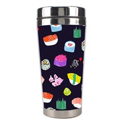 Japanese Food Sushi Fish Stainless Steel Travel Tumblers by Mariart