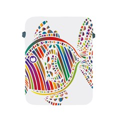 Colorful Fish Animals Rainbow Apple Ipad 2/3/4 Protective Soft Cases by Mariart