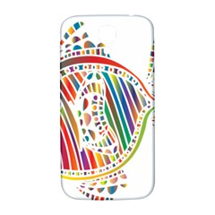 Colorful Fish Animals Rainbow Samsung Galaxy S4 I9500/i9505  Hardshell Back Case by Mariart