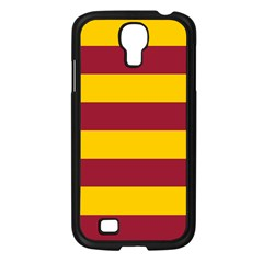 Oswald s Stripes Red Yellow Samsung Galaxy S4 I9500/ I9505 Case (black) by Mariart