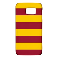 Oswald s Stripes Red Yellow Galaxy S6 by Mariart
