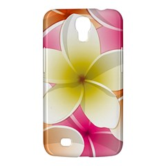 Frangipani Flower Floral White Pink Yellow Samsung Galaxy Mega 6 3  I9200 Hardshell Case by Mariart