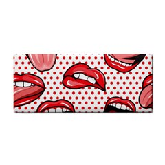 Lipstick Lip Red Polka Dot Circle Cosmetic Storage Cases