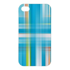 Lines Blue Stripes Apple Iphone 4/4s Hardshell Case by Mariart
