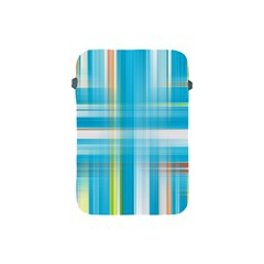 Lines Blue Stripes Apple Ipad Mini Protective Soft Cases by Mariart